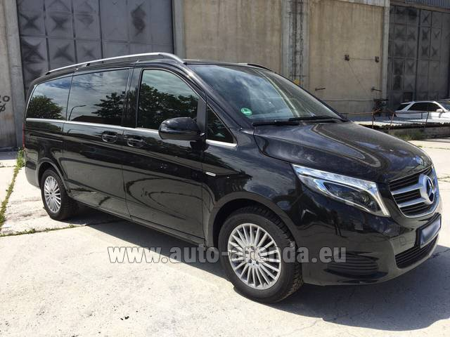 Rental Mercedes-Benz V-Class (Viano) V 250 Long 8 seats in Linz