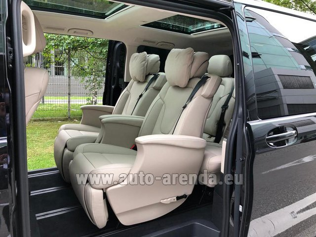 Rental Mercedes-Benz V300d 4MATIC EXCLUSIVE Edition Long LUXURY SEATS AMG Equipment in Vienna