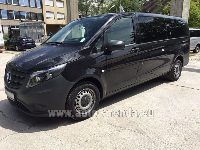 Transfer from Flachau to Munich by Mercedes Vito Long (1+8 Pax) AMG equipment car