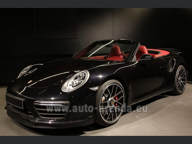 Rental Porsche 911 991 Turbo Cabrio LED Carbon Sitzbelüftung in Vienna
