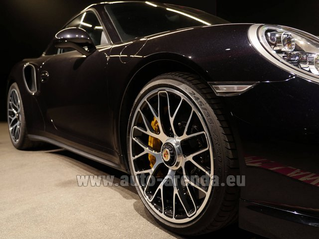 Прокат Порше 911 991 Turbo S Ceramic LED Sport Chrono Пакет в Линце