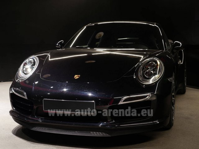 Rental Porsche 911 991 Turbo S Ceramic LED Sport Chrono Package in Austria