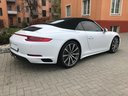 Rent-a-car Porsche 911 Carrera 4S Cabrio with its delivery to Vienna International Airport, photo 4