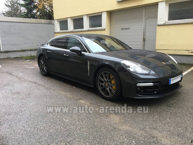 Rental Porsche Panamera Turbo Executive in Innsbruck