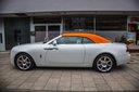Rent-a-car Rolls-Royce Dawn White with its delivery to Vienna International Airport, photo 1