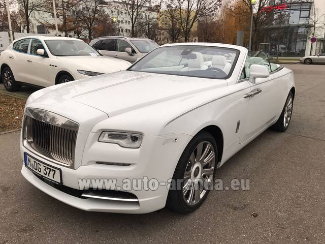 Rental Rolls-Royce Dawn in Austria