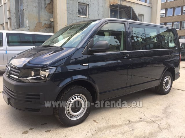 Rental Volkswagen Transporter T6 (9 seater) in Linz