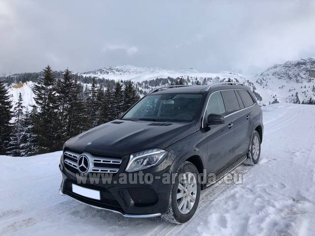 Трансфер из Эц в Аэропорт Мюнхена на автомобиле Мерседес-Бенц GLS BlueTEC 4MATIC комплектация AMG (1+6 мест)